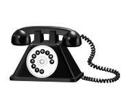 被塑造的老电话 免版税库存照片