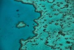 被塑造的重点礁石 免版税库存照片