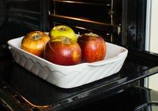 被填装的和被烘烤的苹果 免版税图库摄影