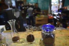 被处理的咖啡产业 免版税图库摄影