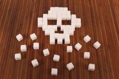 被处理的糖 免版税库存照片