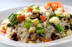 被射击的米蔬菜 库存照片