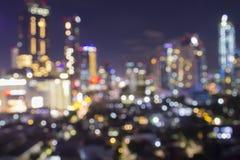 被射击的被弄脏的城市显示电子栅格和了不起的都市计划供给数百万家动力和对e开电和光 免版税图库摄影
