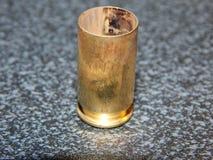 被射击的壳框 免版税库存照片