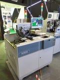 被带领的修造的机器Ecolighttech亚洲2014年 库存图片