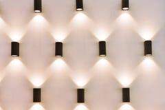 被带领的斑点照明设备 免版税库存照片
