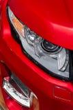 被带领的汽车车灯 免版税库存图片