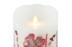 被带领的蜡烛 免版税图库摄影