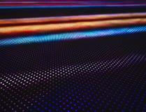 被带领的轻的样式技术五颜六色的抽象背景 免版税库存照片