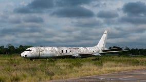 被废弃的飞机 免版税库存照片