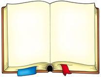 被开张的书老 免版税库存照片
