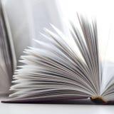 被开张的书 免版税库存图片