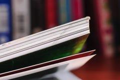 被开张的书 免版税图库摄影