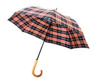 被开张的伞 库存图片