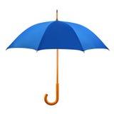 被开张的伞 免版税图库摄影