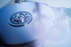 被开张的硬盘驱动器 免版税图库摄影