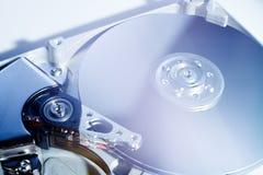 被开张的硬盘驱动器 库存照片