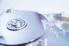 被开张的硬盘驱动器 免版税库存图片