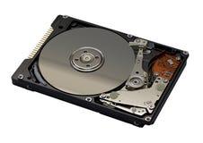 被开张的磁盘驱动器坚硬 库存图片