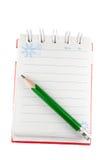 被开张的笔记本 免版税库存图片