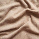 被弄皱的布料材料 免版税图库摄影