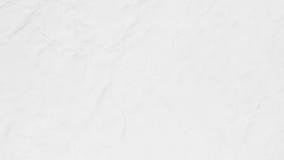 被弄皱的白皮书纹理背景 免版税图库摄影