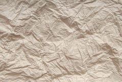 被弄皱的纸张 免版税图库摄影