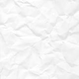 被弄皱的纸无缝的纹理 图库摄影