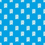 被弄皱的纸样式无缝的蓝色 库存图片