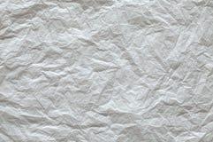 被弄皱的纸纹理 免版税库存照片