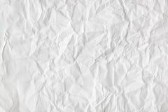 被弄皱的纸背景 免版税库存照片