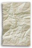 被弄皱的线路纸张 免版税库存照片