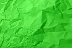 被弄皱的绿皮书纹理 库存图片