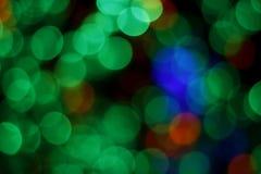 被弄脏的五颜六色的光 库存照片