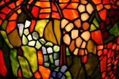 被弄脏的五颜六色的玻璃 免版税图库摄影