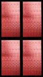 被弄脏的五颜六色的玻璃 免版税库存照片
