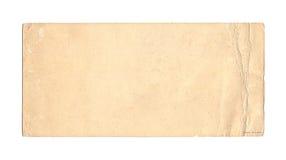 被弄脏的古色古香的纸张 免版税库存图片