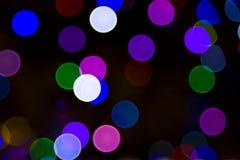 被弄脏的圣诞灯结构树 免版税图库摄影