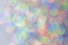 被弄脏的多色的闪闪发光 库存照片