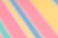被弄脏的对角糖果镶边弹簧和夏天背景 库存图片