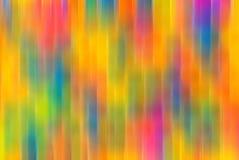被弄脏的抽象defocused五颜六色 免版税图库摄影