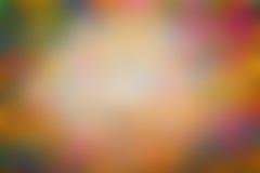 被弄脏的抽象defocused五颜六色 免版税库存照片
