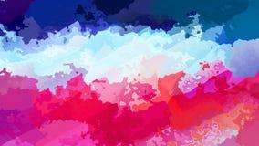 被弄脏的无缝的样式背景录影桃红色,蓝色和白色颜色