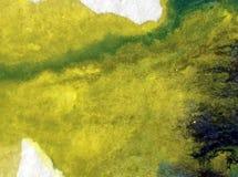 被弄脏的水彩艺术背景摘要创造性的黏土五颜六色的织地不很细未充分干燥即送回的洗好的衣服 免版税库存照片