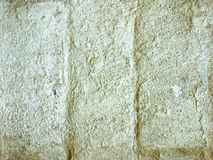 被弄脏的现代砖墙 库存图片