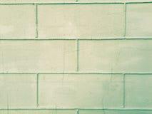被弄脏的现代砖墙 免版税库存图片