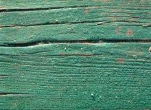 被弄脏的硬木老 库存图片
