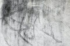 被弄脏的米色涂灰泥的墙壁 免版税库存照片