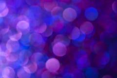 被弄脏的紫色上色了闪闪发光 免版税库存图片