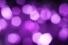 被弄脏的紫色闪耀的欢乐bokeh背景 向量例证